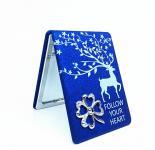 Taschenspiegel Blau