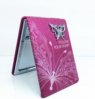 Taschenspiegel Pink