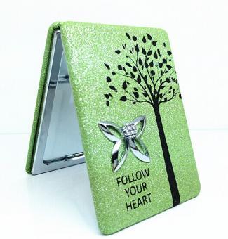Taschenspiegel Grün