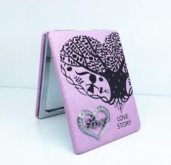 Taschenspiegel Rosa