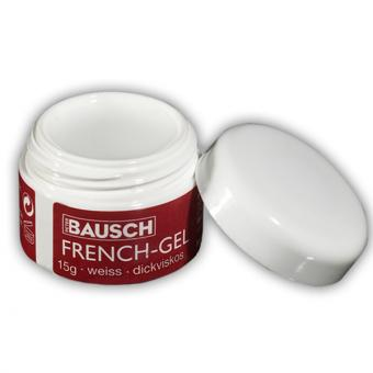 % French-Gel, 15 g, dickviskos, weiß
