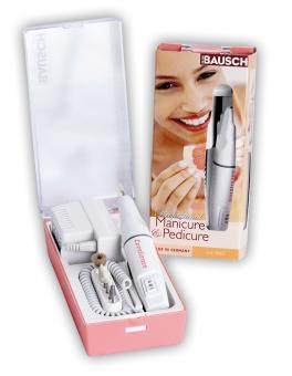 Easy to handle manicure/pedicure device