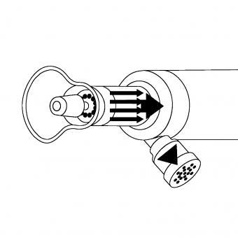 Innovatives Maniküre-/Pediküregerät MIT ABSAUGVORRICHTUNG